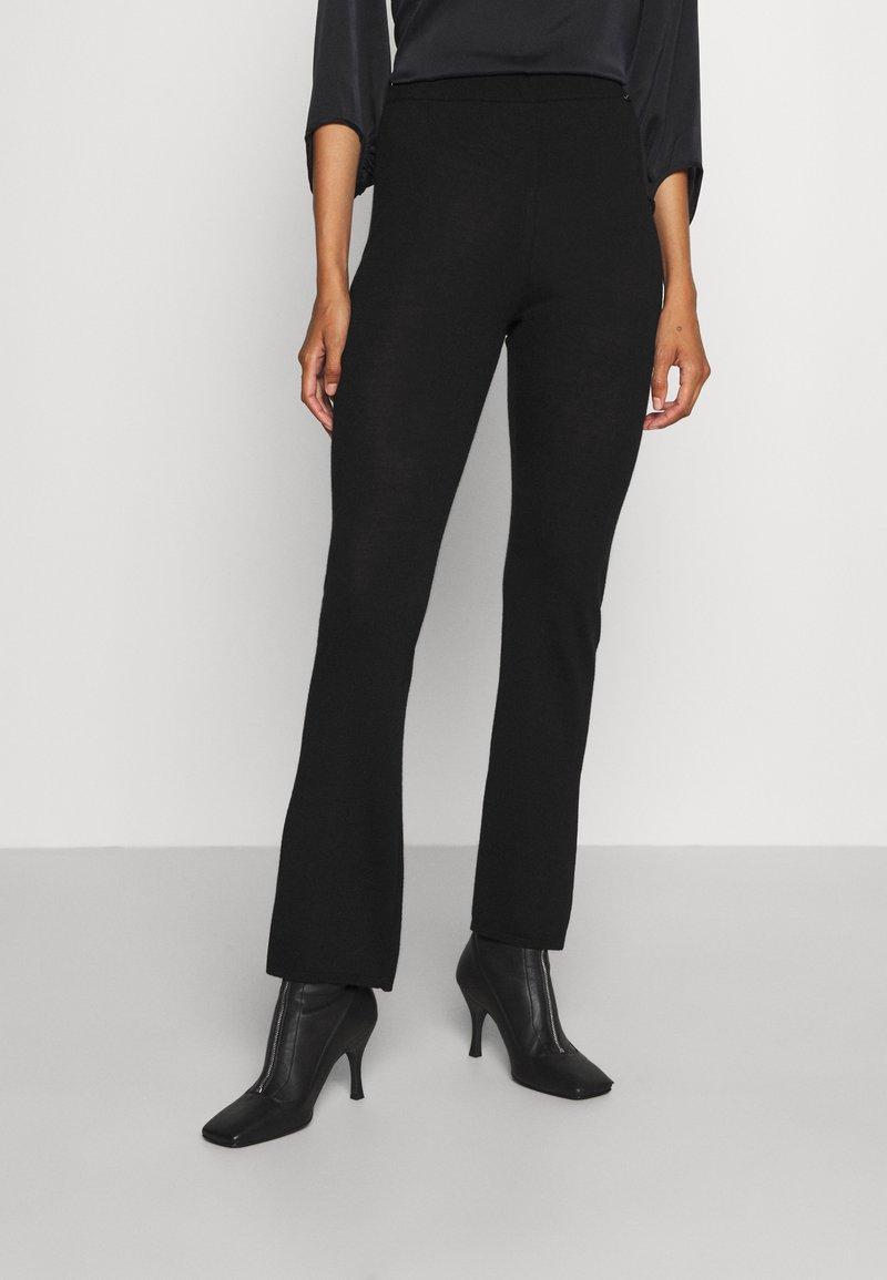 Sand Copenhagen - FELLINI DHARMA - Teplákové kalhoty - black