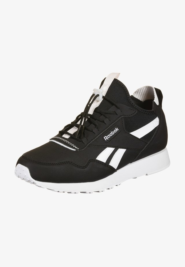 Trainers - black / white