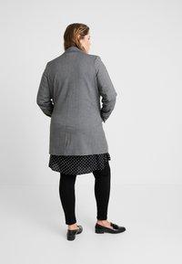 Persona by Marina Rinaldi - CASTAGNA - Frakker / klassisk frakker - grigio scuro - 2