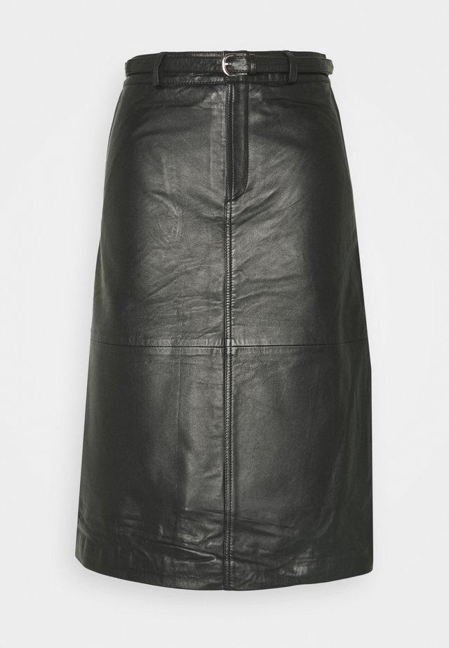 SLFKIM - Jupe trapèze - black