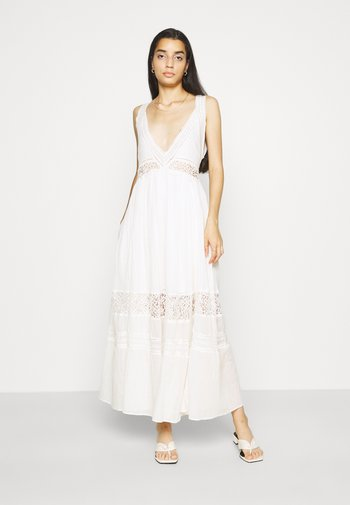 CARLA DRESS - Robe longue - ivory