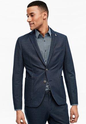 COLBERT - Blazer jacket - dark blue melange
