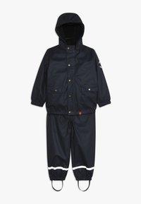 mikk-line - RAIN SET 2-IN-1 - Vodotěsná bunda - blue nights - 0