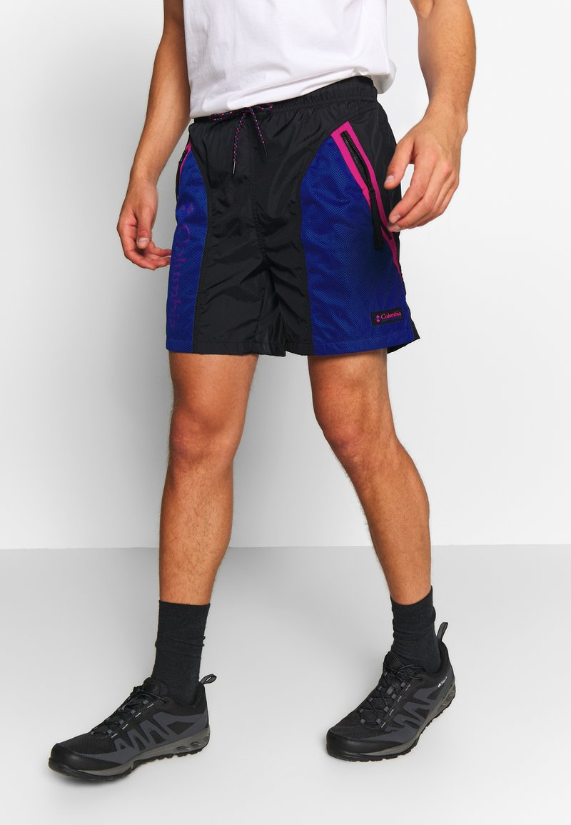 Columbia - RIPTIDE™ SHORT - Pantalones montañeros cortos - black