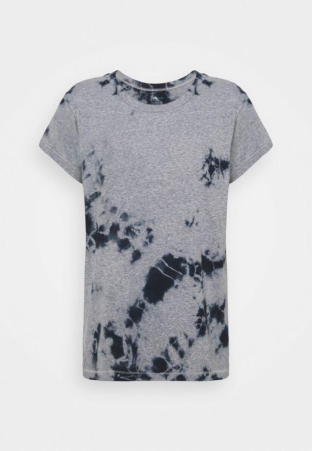 TRIBLEND TIE DYE TEE - Camiseta estampada - indigo
