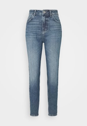 PCZOE STRAIGHT - Džíny Straight Fit - medium blue denim