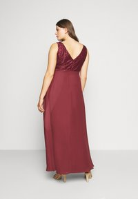 Swing Curve - Occasion wear - earth red - 2