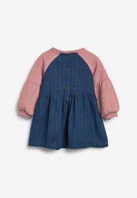 Next - Denim dress - pink - 1