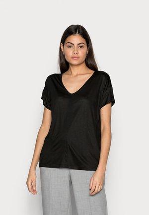 SLUB - Basic T-shirt - deep black