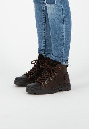 SKAIDI - Veterboots - dark brown
