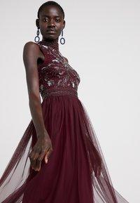 Lace & Beads Tall - KUSHI - Juhlamekko - burgundy - 4