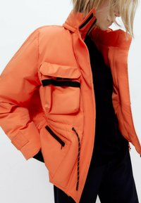 Uterqüe - Down jacket - orange - 4