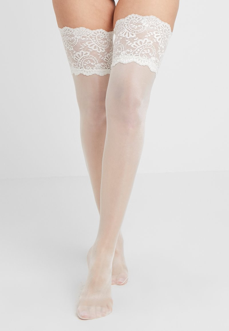 KUNERT - LOOK - Over-the-knee socks - ivory