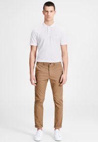 Jack & Jones - Polo shirt - white/infinity/navy - 0