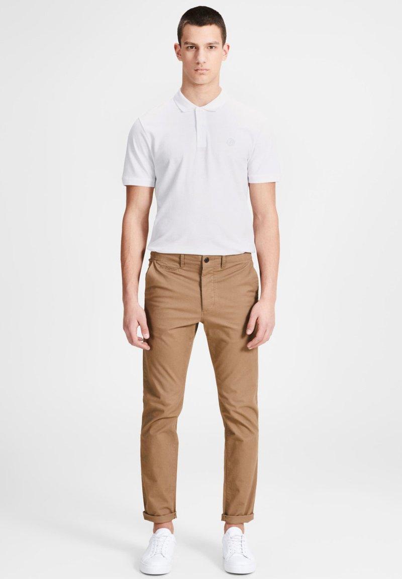 Jack & Jones - Polo shirt - white/infinity/navy
