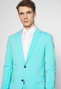 Lindbergh - PLAIN MENS SUIT - Suit - sea blue - 8