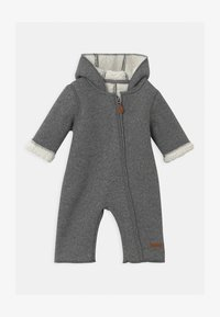 Name it - NBNMILEY UNISEX - Overal - grey melange - 0
