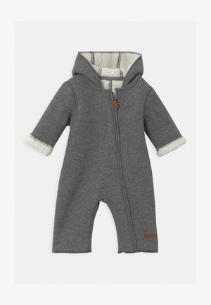 NBNMILEY UNISEX - Jumpsuit - grey melange