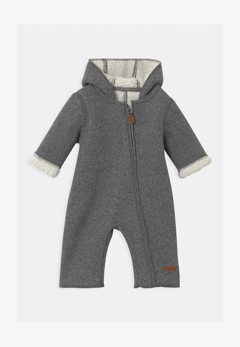 Name it - NBNMILEY UNISEX - Jumpsuit - grey melange