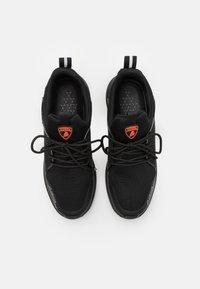 Lamborghini - Sneakers laag - black/red - 3