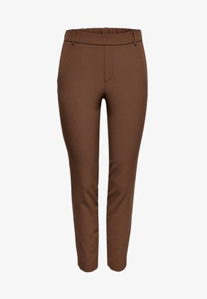 ONLGLOWING - Trousers - golden brown