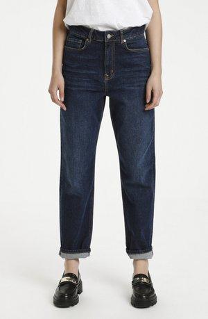Straight leg jeans - dark blue retro wash