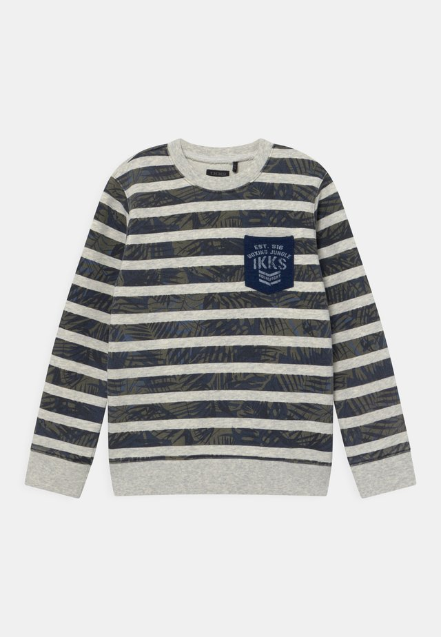 CAPUCHE - Sweatshirt - mastic chiné clair