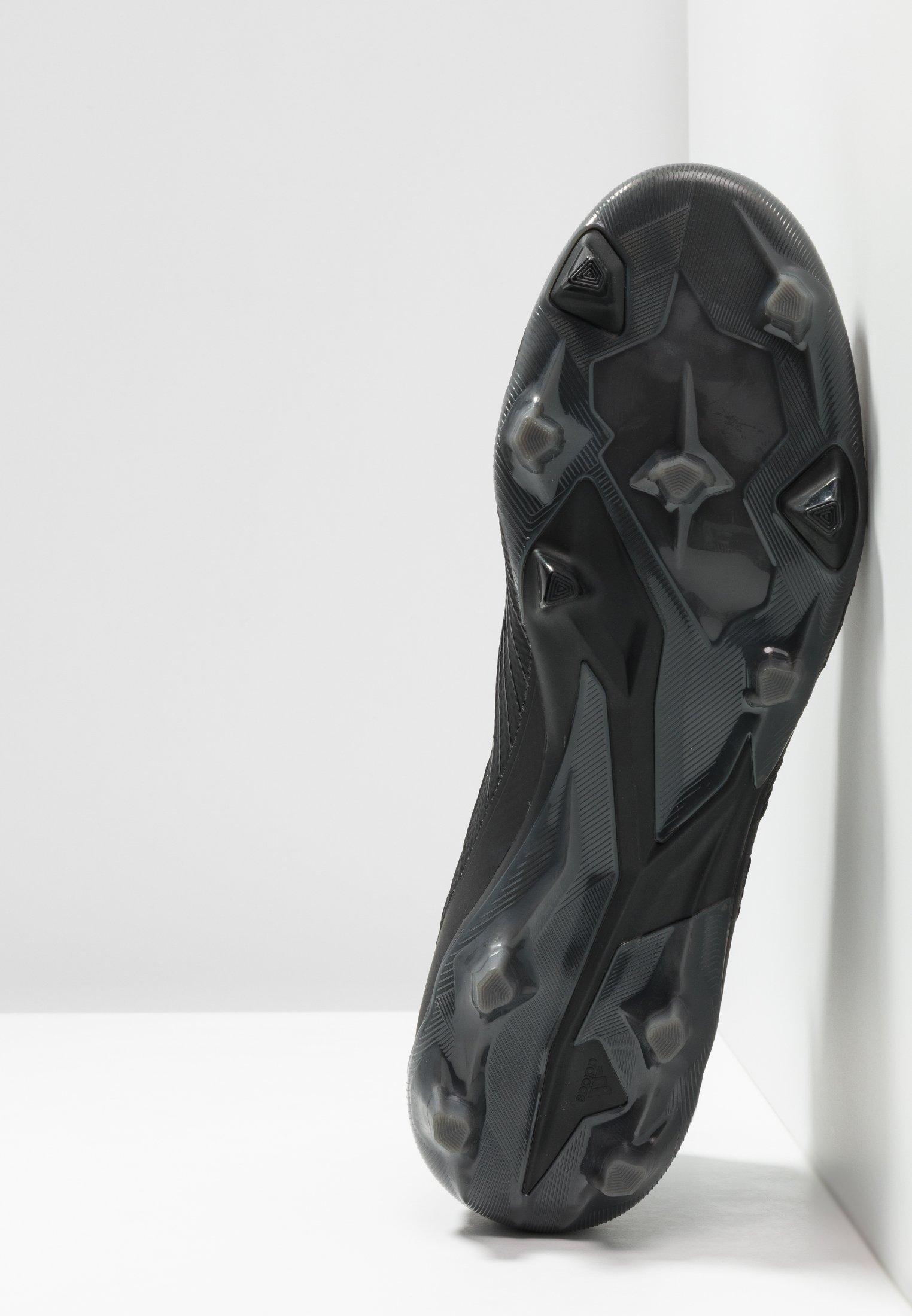 adidas Performance PREDATOR 19.2 FG - Fußballschuh Nocken - core black/utility black/schwarz - Herrenschuhe AQSbJ