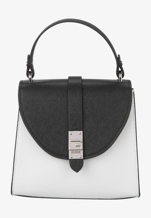 NEREA TOP HANDLE FLAP - Handbag - white multi