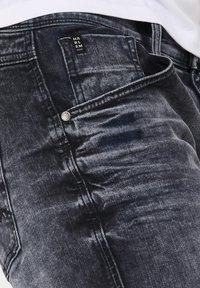 Harlem Soul - Denim shorts - blue black used - 5