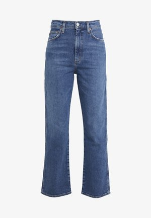 HIGH RISE WAIST - Relaxed fit jeans - subdued