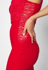 WAL G. - SLEEVLESS VNECK DRESS WITH SIDES - Vestido de fiesta - red - 5