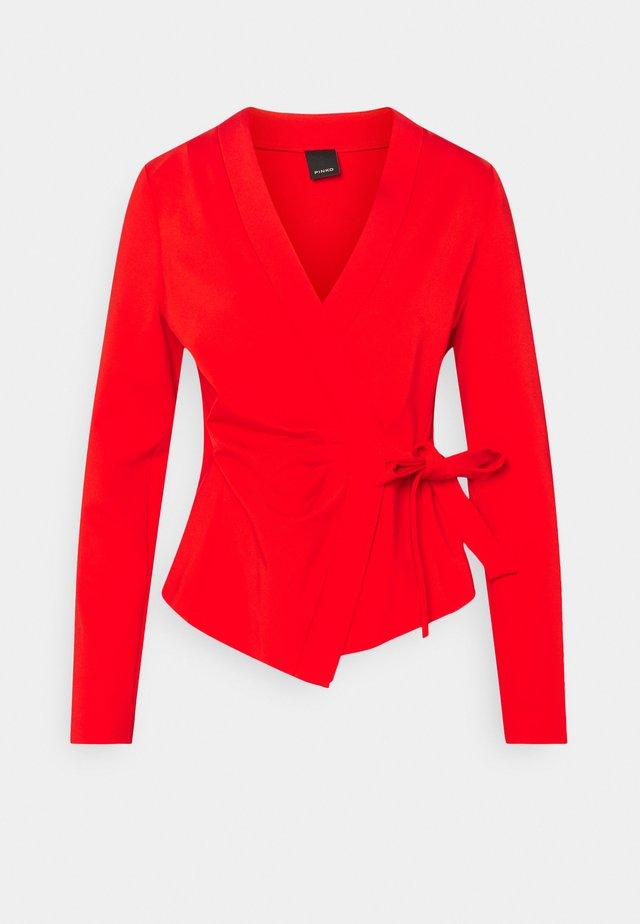 ERUDITO GIACCA  - Blazer - red