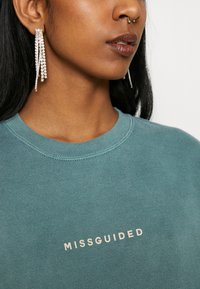 Missguided - WASHED - Sweatshirt - green - 4