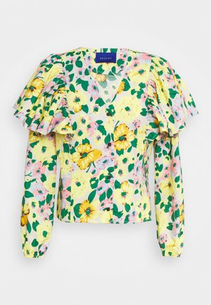 CLARIS SHIRT - Button-down blouse - yellow