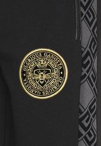 Glorious Gangsta - DINAS - Pantaloni sportivi - black - 2