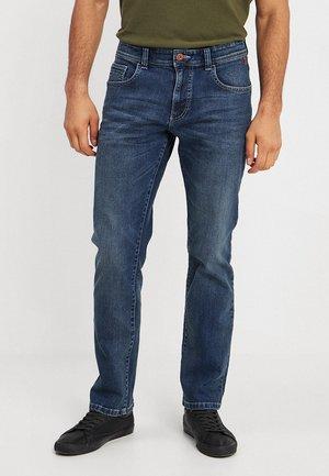 Straight leg jeans - stone blue