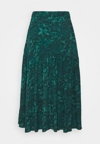 mbyM - BILJANA - A-line skirt - dark green - 3