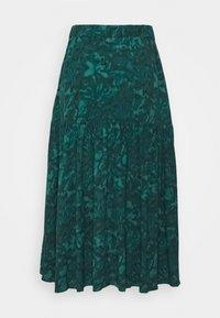 mbyM - BILJANA - A-snit nederdel/ A-formede nederdele - dark green - 3