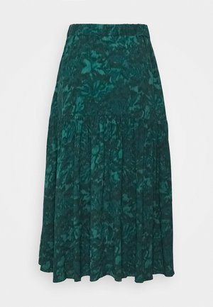 BILJANA - A-line skirt - dark green