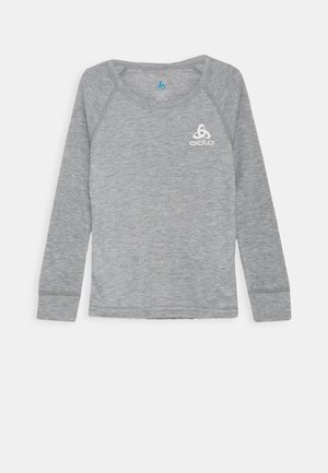 CREW NECK ACTIVE WARM ECO KID UNISEX - Hemd - grey melange
