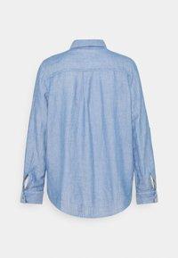 TOM TAILOR - CHAMBRAY LOOK - Koszula - stonington blue - 1