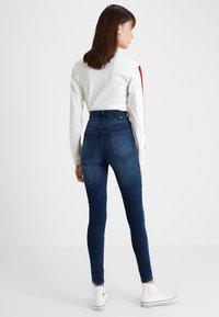 Dr.Denim Tall - MOXY HIGH WAIST - Jeans Skinny Fit - blue used - 2