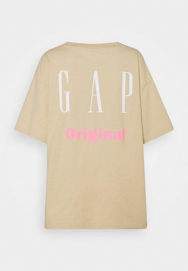TEE - Print T-shirt - ecru