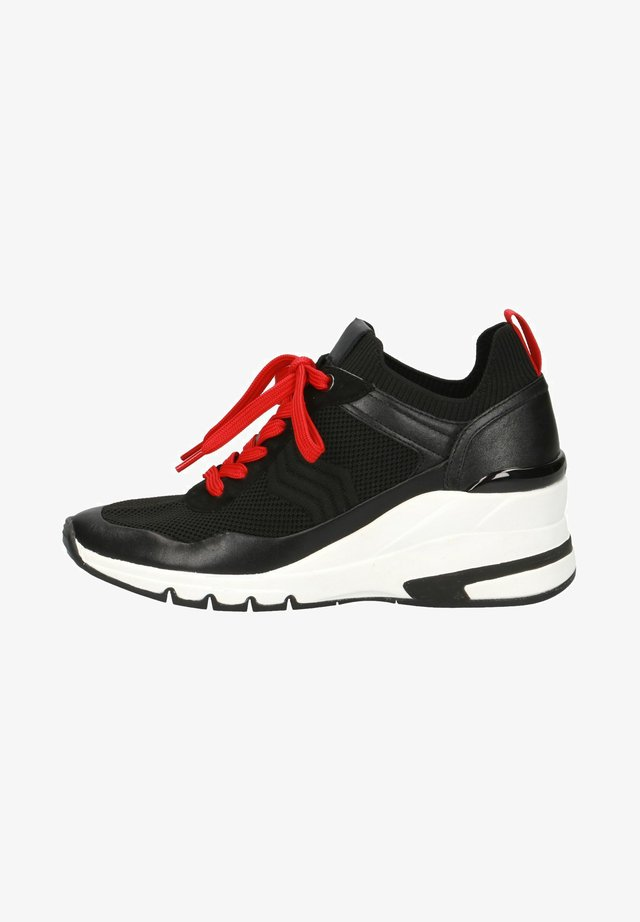 SNEAKER - Sneakers laag - black/red