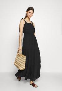 Marks & Spencer London - TIE TIERED DRESS - Accessoire de plage - black - 1