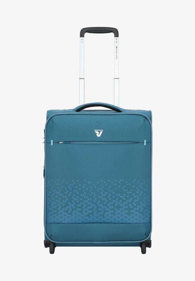 CROSSLITE - Wheeled suitcase - petrolio