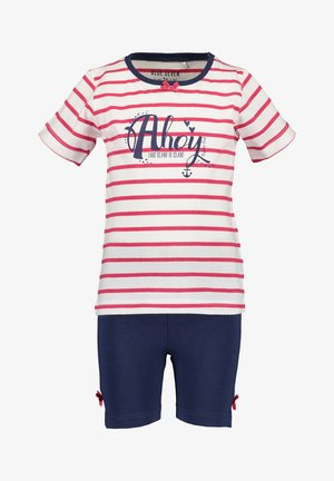 SET - Shorts - red, dark blue