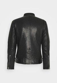Gipsy - BENNET - Leather jacket - black - 9