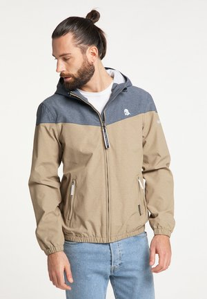 Outdoor jacket - khaki melange